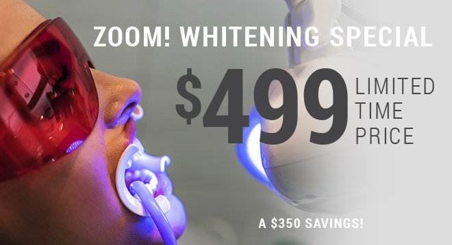 $499 Zoom! whitening special coupon